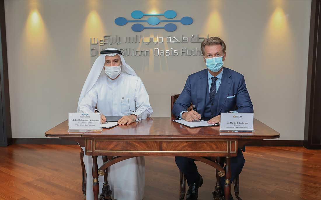 DUBAI SILICON OASIS AUTHORITY SIGNS AGREEMENT WITH IFZA
